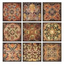 Tuscan Wall Panels - Set of 9
