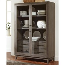 Vogue - Display Cabinet - Gray Wash Finish