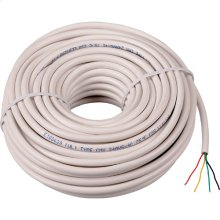 50 foot station wire in white color