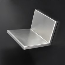 "Wall-mounted shelf 6 7/8""W, 6 1/4""D, 5 1/8"" H"