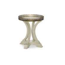 Renaissance Gallery Round End Table