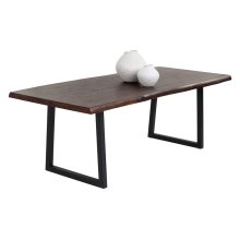 Dustin Dining Table - Brown