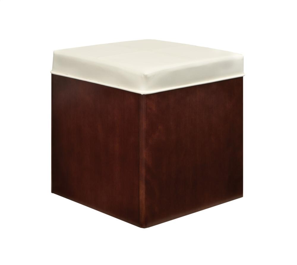 Cube It Storage Stool, 16 1/4W X 16 1/4