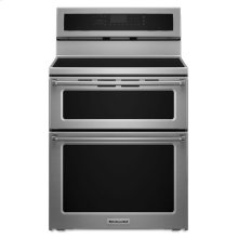 30-Inch 4 elements Induction Double Oven Convection Range - Stainless Steel