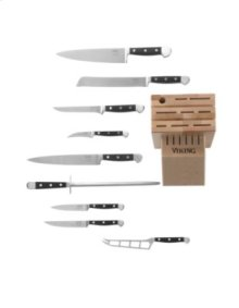 10 Piece Chef Cutlery Set