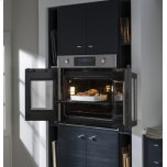 """Ge Cafe(tm)  30"""" Built-In French-Door Single Convection Wall Oven"""