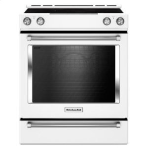 30-Inch 5-Element Electric Slide-In Convection Range - White - WHITE