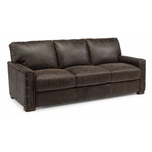 FLEXSTEELLomax Leather Sofa