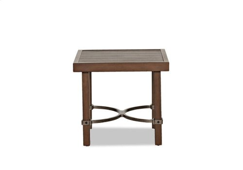 Trisha Yearwood Outdoor Square End Table