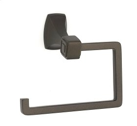 Cube Single Post Tissue Holder A6566 - Chocolate Bronze