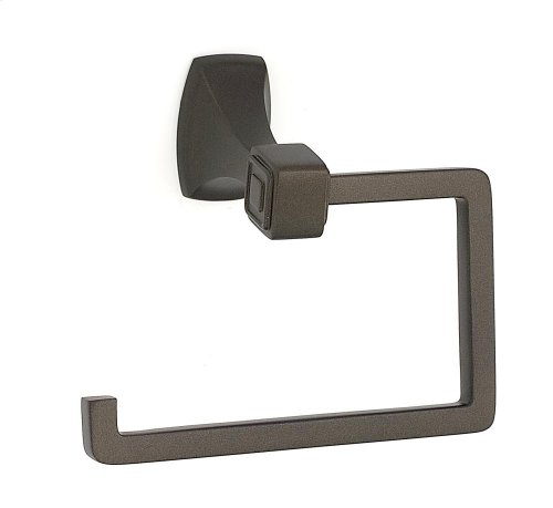 Cube Single Post Tissue Holder A6566 - Chocolate Bronze