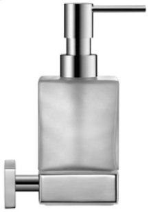 Chrome Karree Soap Dispenser