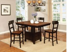 Black & Cherry Pub Dining Set