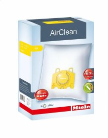 KK AirClean AirClean KK dustbags ensures that dust picked up stays inside the machine.