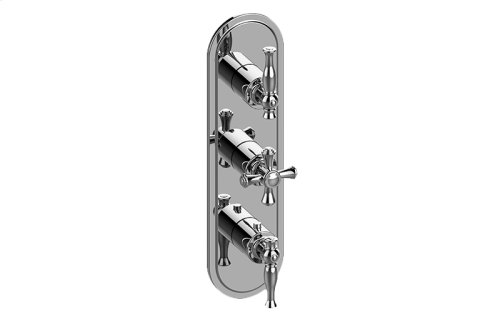 Lauren M-Series Valve Trim with Three Handles