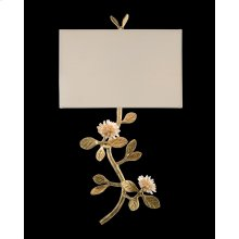 Quartz Flower Single-Light Wall Sconce