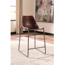 Antonelli Reddish Brown Counter-height Chair