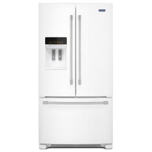 36- Inch Wide French Door Refrigerator with PowerCold(R) Feature - 25 Cu. Ft. -