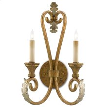 Orleans Gold Wall Sconce
