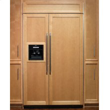"""42"""" Integrated Built-In Refrigerator with Ice and Water Dispenser"""