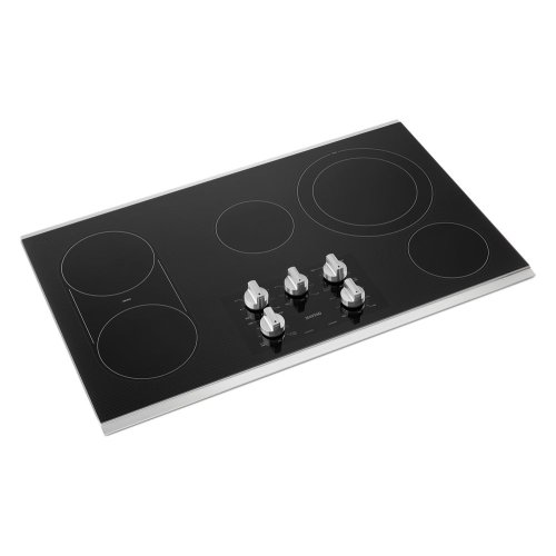 36 Inch Electric Cooktop With Reversible Grill And Griddle