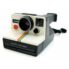 Polaroid OneStep SX-70 White/Rainbow Instant Camera