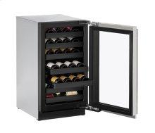 """18"""" Wine Captain ® Model Stainless Frame Left-Hand Hinge"""