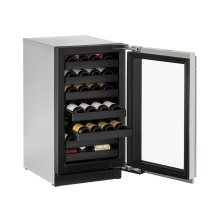 "18"" Wine Captain ® Model Stainless Frame Left-Hand Hinge"