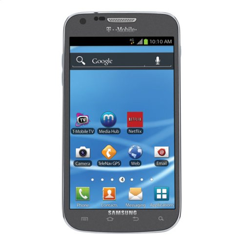 Samsung Galaxy S® II, available at T-Mobile (Titanium)
