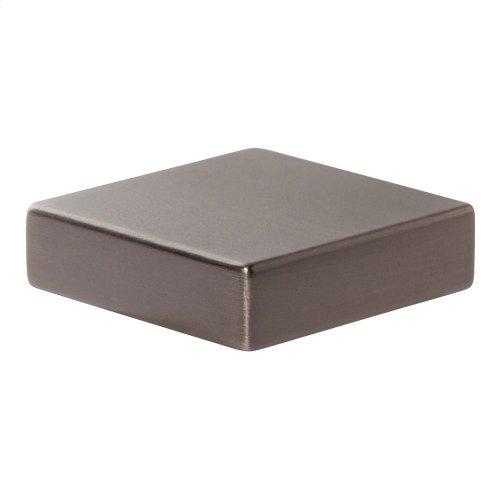 Thin Square Knob 1 1/4 Inch - Slate