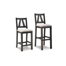 """Algoma 24"""" Counter Chair With Fabric Seat"""