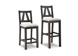 "Algoma 30"" Bar Chair With Wood Seat"