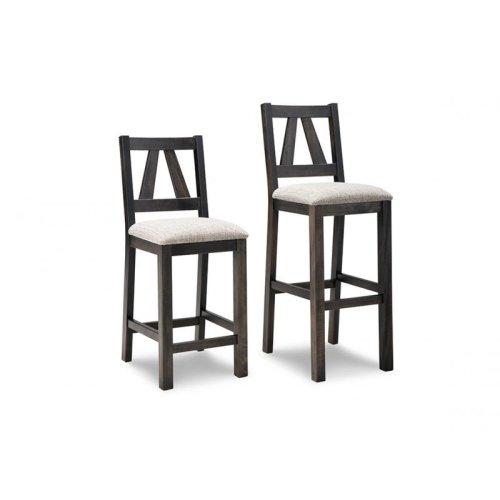 "Algoma 30"" Bar Chair With Fabric Seat"
