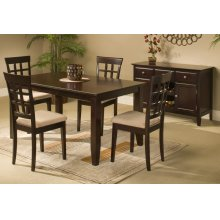 """42"""" SQ Counter Ht Dining Table"""