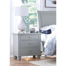 Liv360 Nightstand (Available in Cherry Brown or Eggshell White Finish)