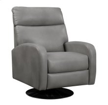 Swivel Recliner Kd Aged Gray