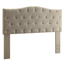 "Grace 54/60"" Headboard in Natural Linen"