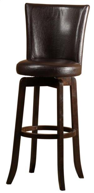 Copenhagen Swivel Bar Stool - Brown/walnut