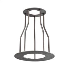 Cast Iron Pipe Optional Cage Shade