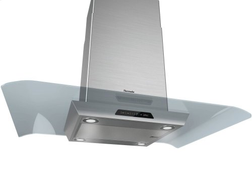 "40"" Masterpiece Series Glass Island Hood HMIB40HS"