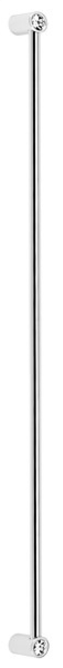 Contemporary Crystal Appliance Pull CD715-18 - Polished Chrome