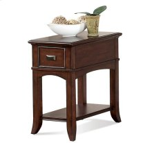 Canterbury Chairside Table Colburn Cherry finish