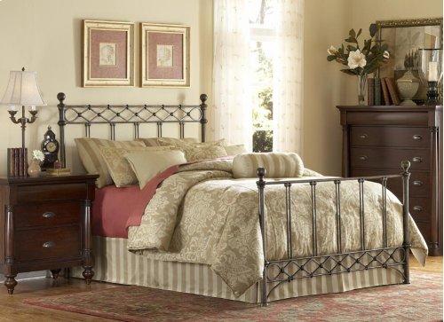 Argyle Bed - QUEEN