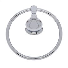 Polished Chrome Liberty Towel Ring