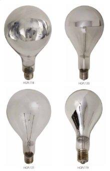 Light Bulbs  half chrome bottom