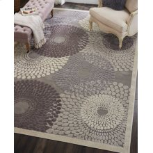 Graphic Illusions Gil04 Gry Rectangle Rug 2'3'' X 3'9''