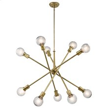 Armstrong Collection Armstrong 10 Light Large Chandelier - NBR