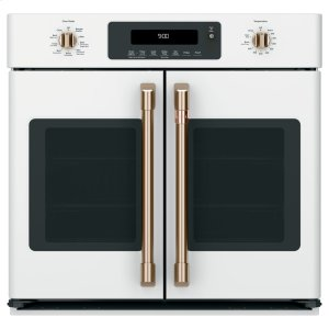 "Cafe30"" Smart French-Door Single Convection Wall Oven"