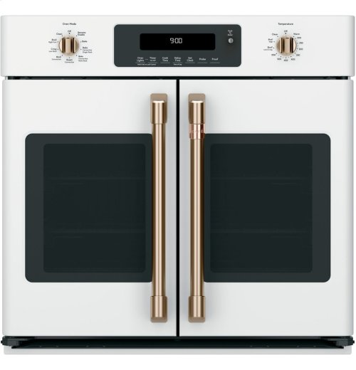 """Café 30"""" Built-In French-Door Single Convection Wall Oven"""