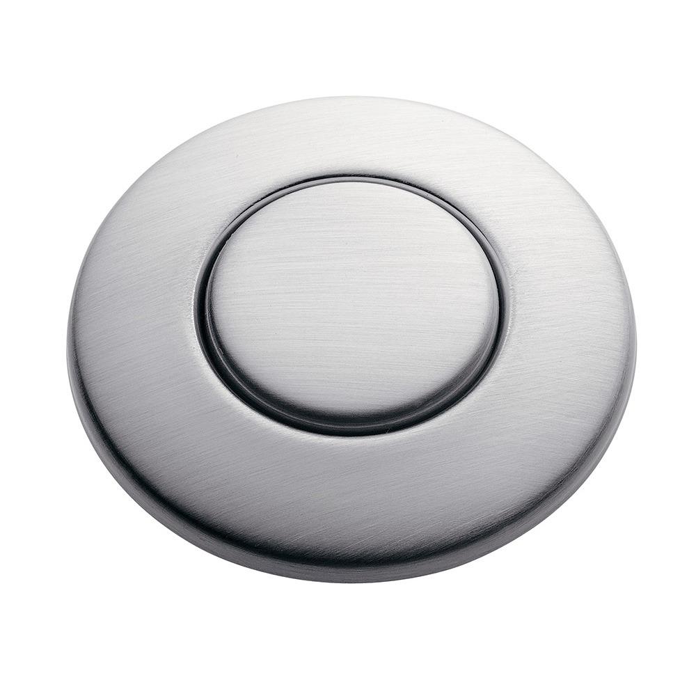 SinkTop Switch Button   Satin Nickel
